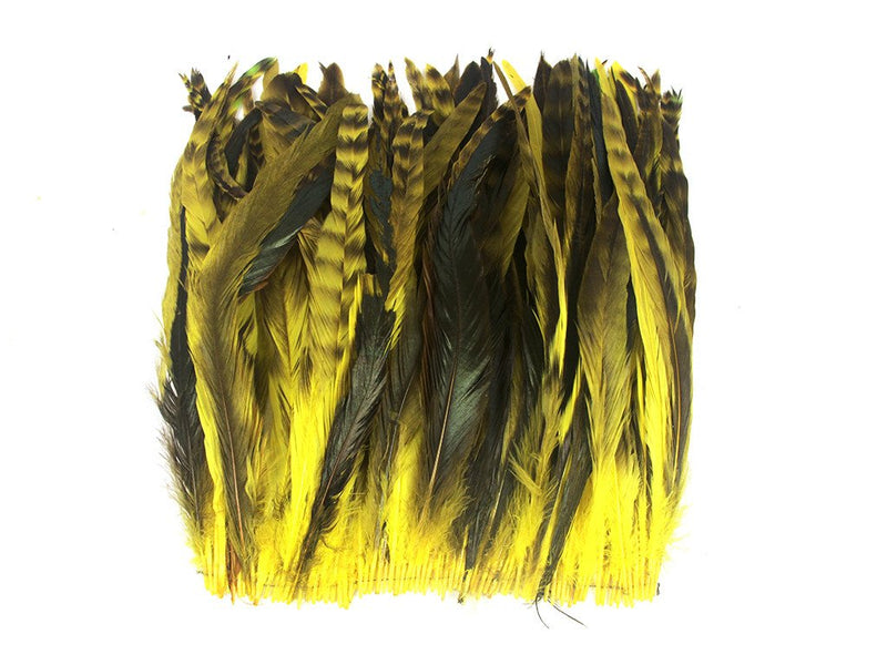 Feather Fringe | Dyed Coque Feathers - FancyFeather.com