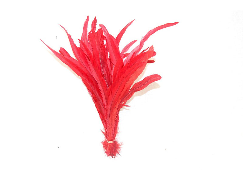 "Loose Feathers Coque Dyed 8-13"" - FancyFeather.com"