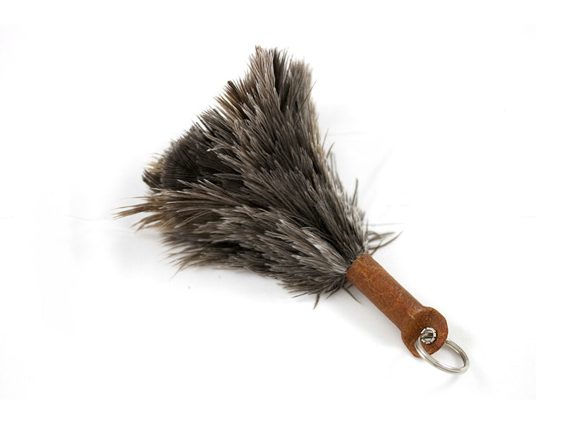 Ostrich Feather Keychains