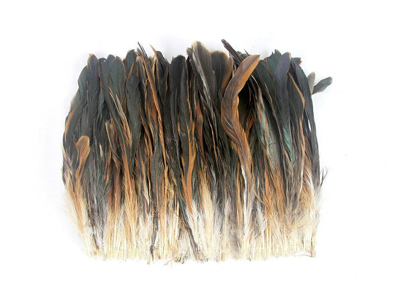 Coque Half Bronze Strung Feather Fringe - FancyFeather.com