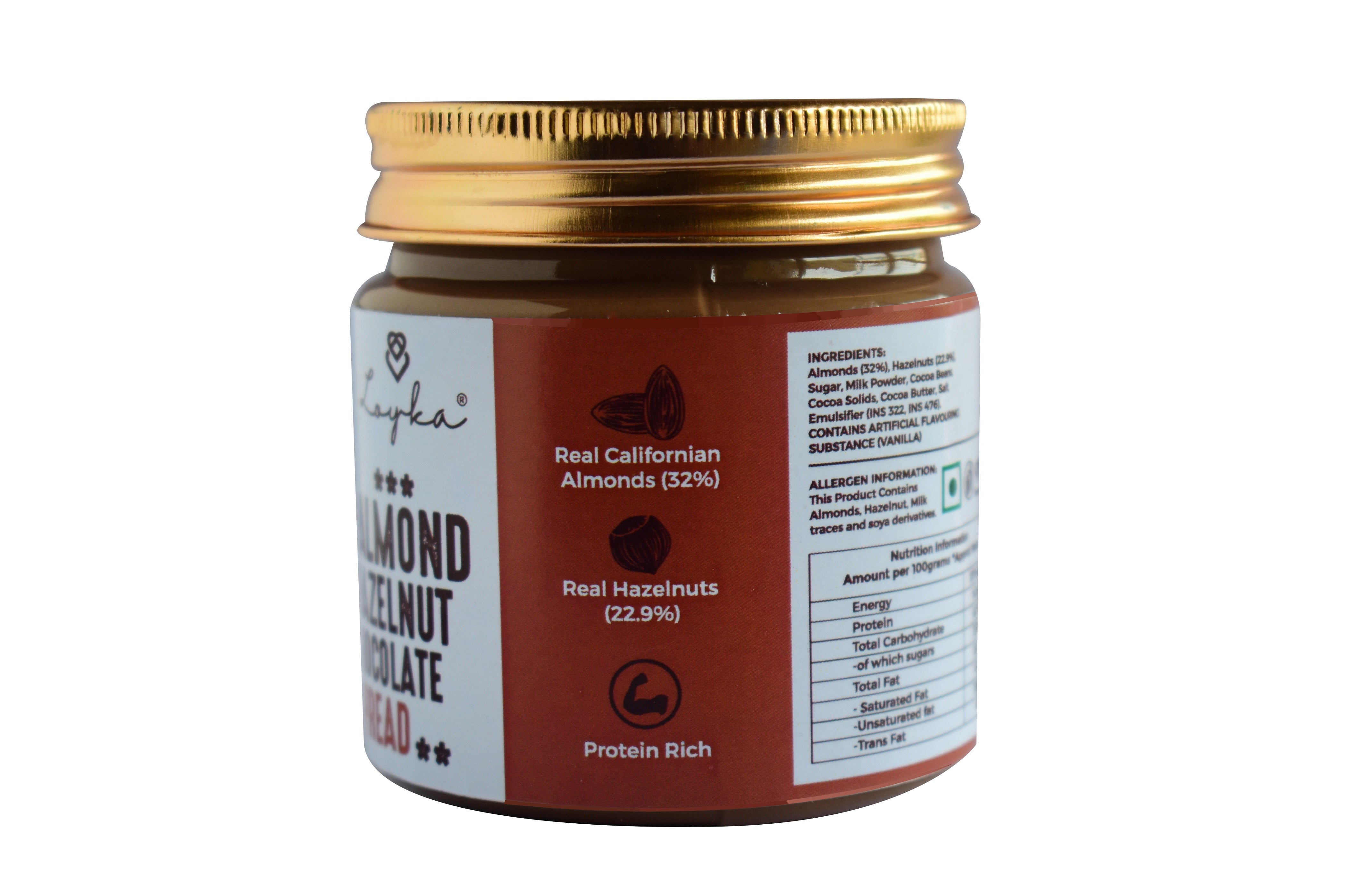 Loyka Almond Hazelnut Chocolate Spread (190 grams)