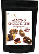 Load image into Gallery viewer, Loyka Almond Crunchy Chocolate Dates (No added sugar) Value for Money Pack - 300 grams