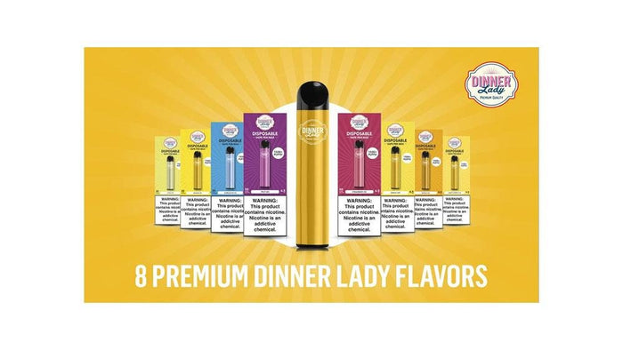 New Disposable E-Cigarette by Dinner Lady Hits the Market | Cheap eJuice