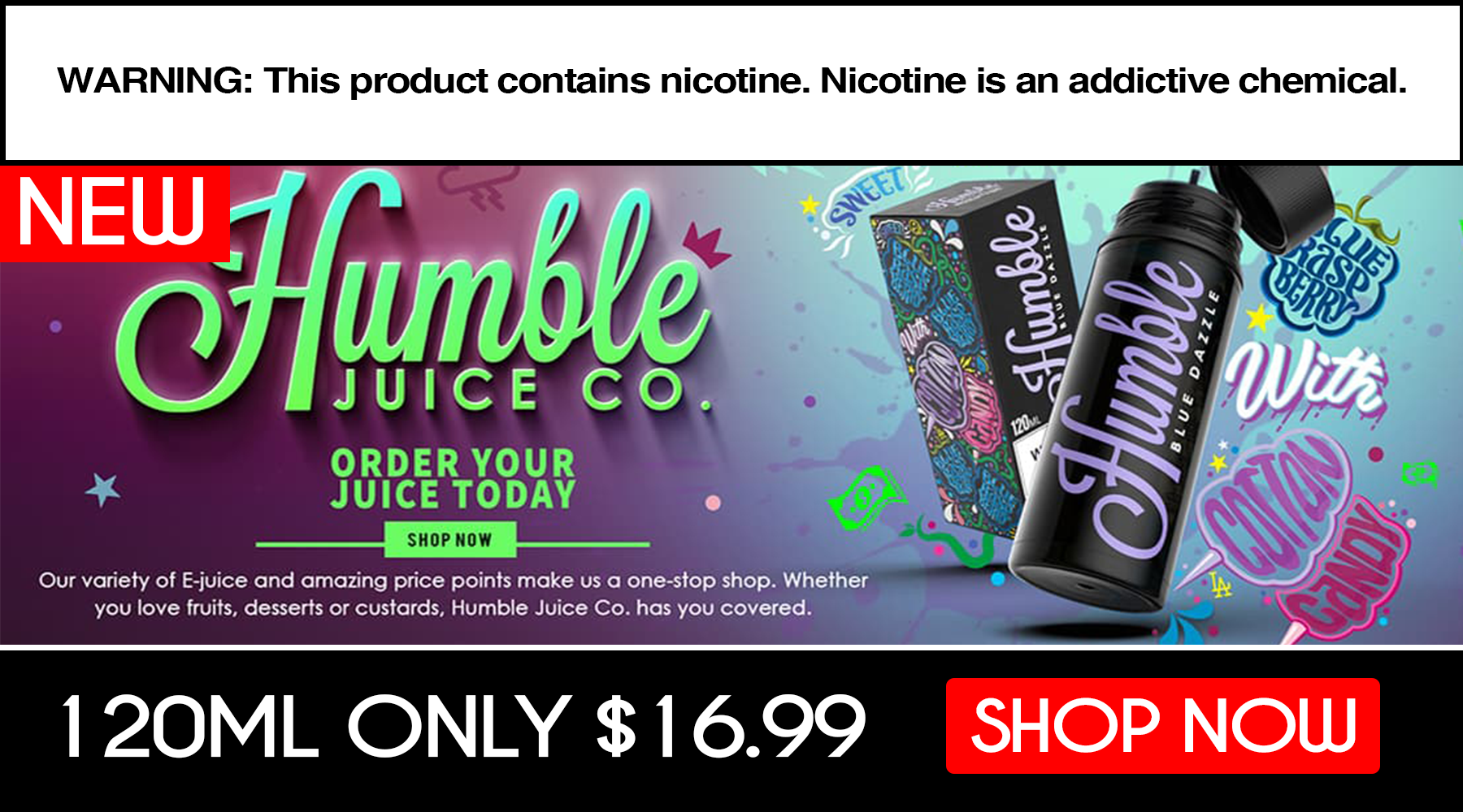 Humble Juice Co Eliquid Sale