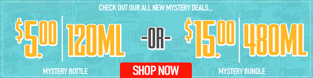 Mystery eJuice Deals