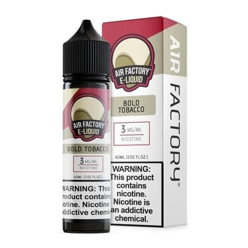Air Factory Bold Tobacco eJuice