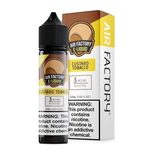 Air Factory Custard Tobacco eJuice » Air Factory » Shop eJuice | Cheap eJuice