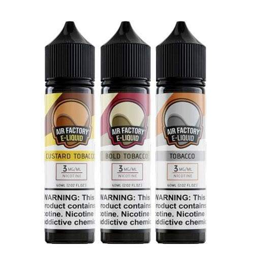 Air Factory Tobacco Flavor eJuice Bundle » Air Factory » Shop eJuice Bundle | Cheap eJuice