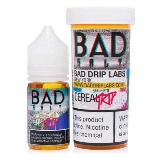 Bad Salts Cereal Trip eJuice » Bad Drip Salts » Shop Salt Nicotine | Cheap eJuice