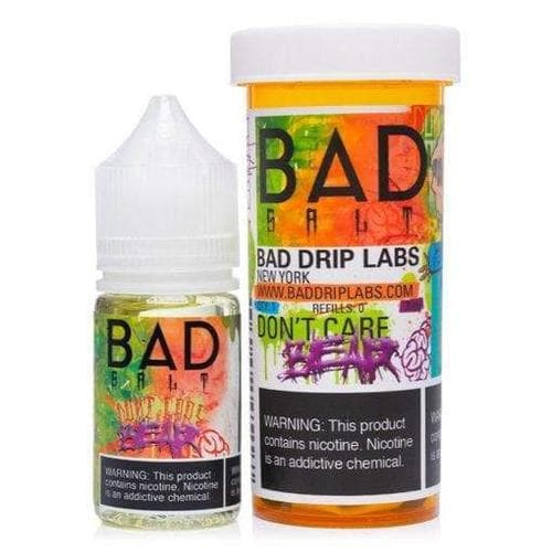 Bad Salts Don't Care Bear eJuice » Bad Drip Salts » Shop Salt Nicotine | Cheap eJuice