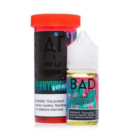 Bad Salts Pennywise Iced Out eJuice » Bad Drip Salts » Shop Salt Nicotine | Cheap eJuice
