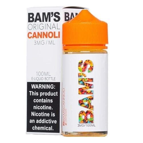 Bam's Original Cannoli eJuice
