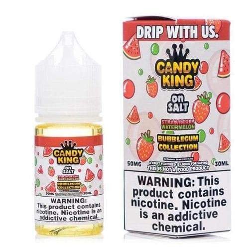 Candy King Bubblegum Collection On Salt Strawberry Watermelon eJuice » Candy King » Shop Salt Nicotine | Cheap eJuice