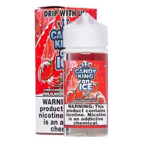 Candy King On Ice Strawberry Belts eJuice » Candy King » Shop eJuice | Cheap eJuice