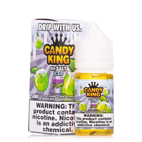 Candy King On Salt Iced Hard Apple - Cheap eJuice