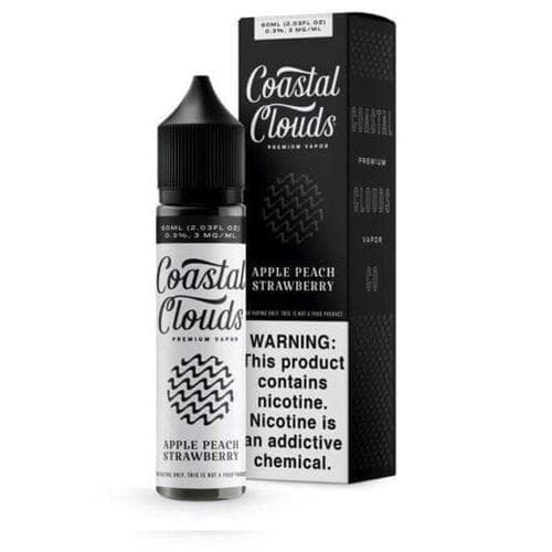 Coastal Clouds Apple Peach Strawberry eJuice