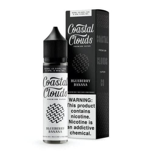 Coastal Clouds Blueberry Banana eJuice