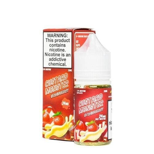 Custard Monster Salt Strawberry eJuice » Custard Monster » Shop Salt Nicotine | Cheap eJuice