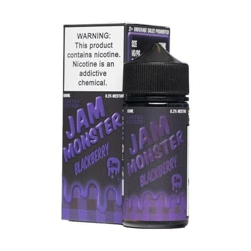 Jam Monster Blackberry eJuice » Jam Monster E-Liquid » Shop eJuice | Cheap eJuice