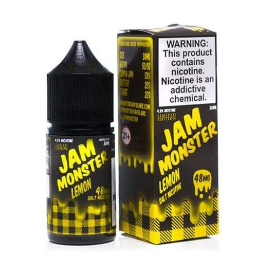 Jam Monster Salt Lemon eJuice » Jam Monster E-Liquid » Shop Salt Nicotine | Cheap eJuice