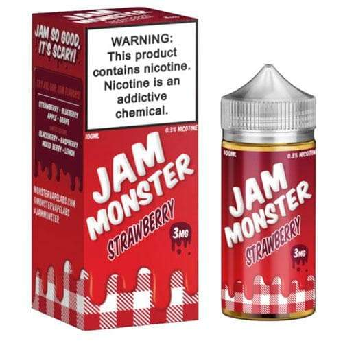Jam Monster Strawberry eJuice » Jam Monster E-Liquid » Shop eJuice | Cheap eJuice