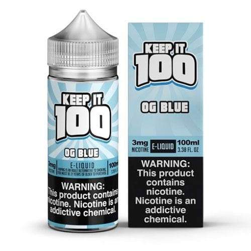 Keep It 100 OG Blue eJuice
