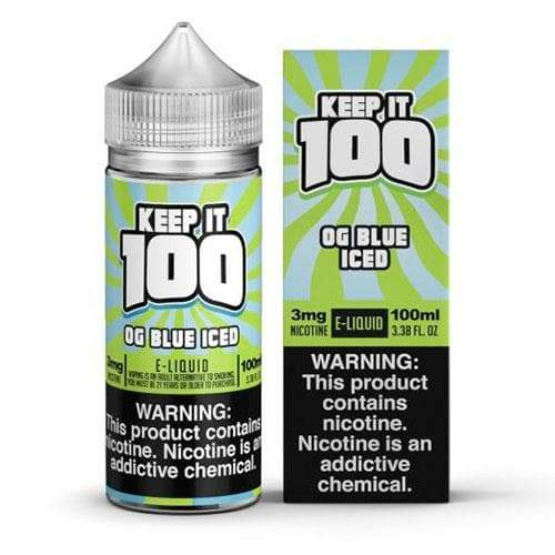 Keep It 100 OG Blue Iced eJuice » Keep It 100 » Shop eJuice | Cheap eJuice