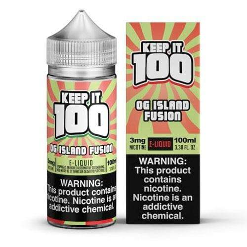 Keep It 100 OG Island Fusion eJuice