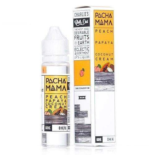 Pachamama Peach Papaya Coconut Cream eJuice » Pachamama » Shop eJuice | Cheap eJuice