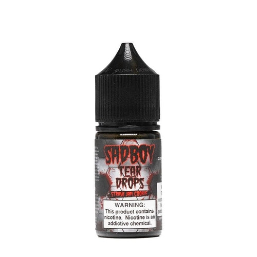Sadboy Tear Drops Straw Jam Cookie » Sadboy Salt » Shop Salt Nicotine | Cheap eJuice