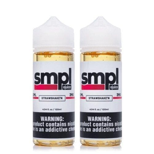 SMPL Juice StrawShake'N 2 Pack » SMPL Juice » Shop eJuice Bundle | Cheap eJuice