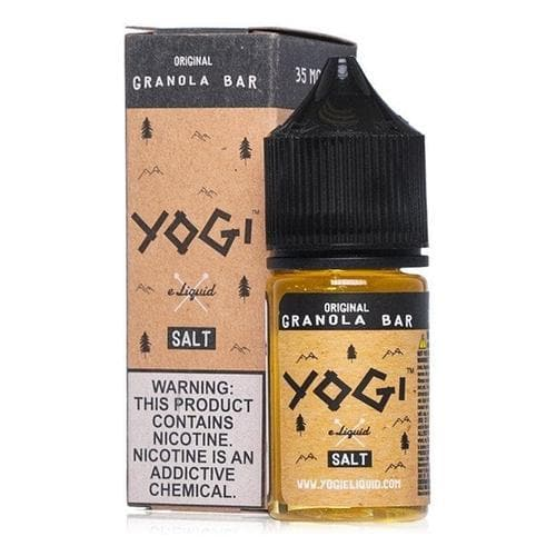 Yogi Salt Original Granola Bar » Yogi Salt » Shop Salt Nicotine | Cheap eJuice
