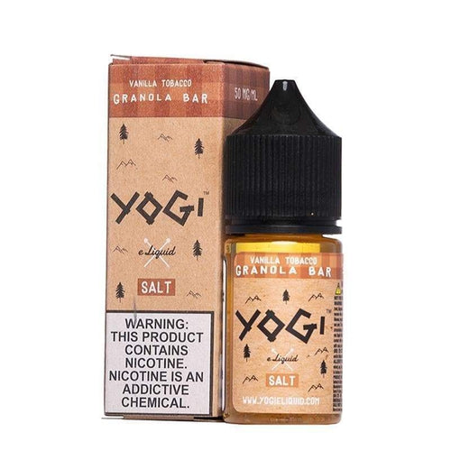 Yogi Salt Vanilla Tobacco Granola Bar - Cheap eJuice