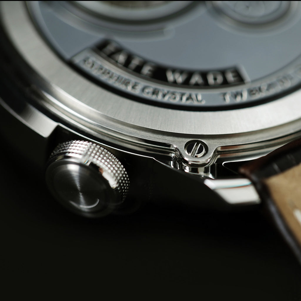 Tate Wade - Bokeh Collection - Stainless Steel - TateWade
