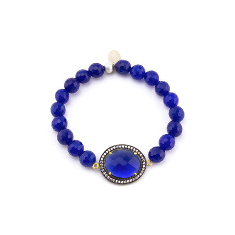 Blue afternoon bracelet