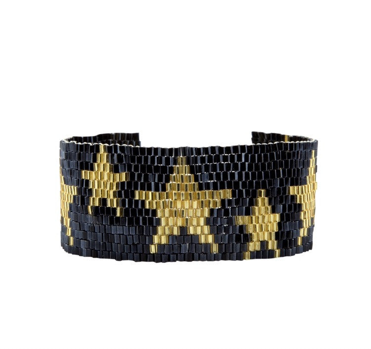 Superstar cuff bracelet
