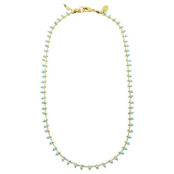 Andes turquoise necklace