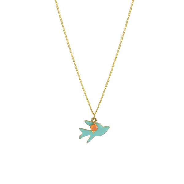 A little birdy told me pendant