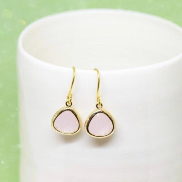 Rosewater day love earrings