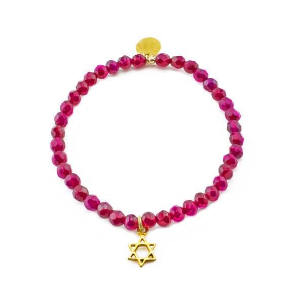 Star of David stretchy bracelet