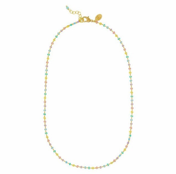 Pastel dot necklace