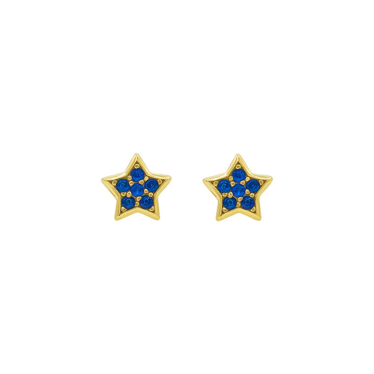 Midnight star studs