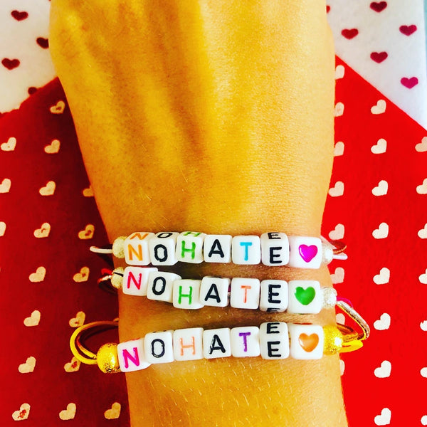Nohate cube bracelet