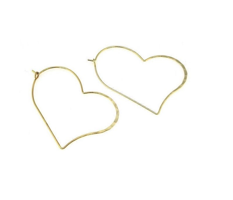 Mega heart hoops