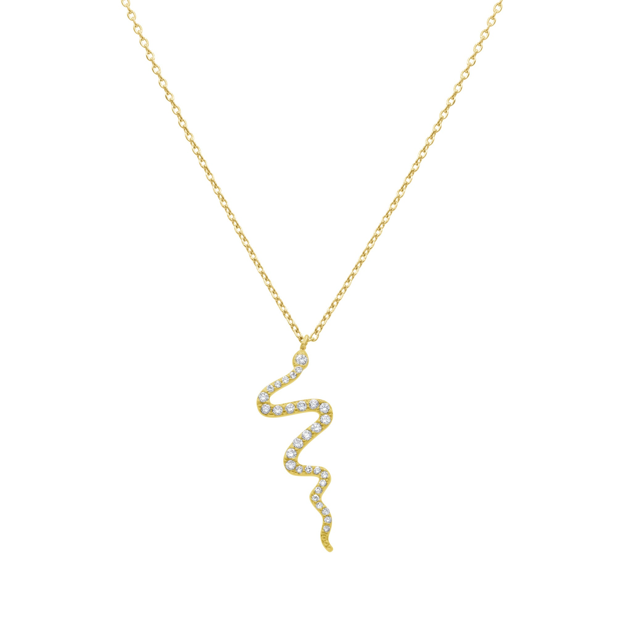 Cleopatra Snake necklace