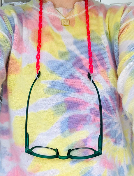 Candy neon glasses chain