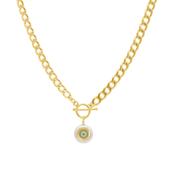 Athena chain necklace