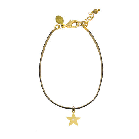 Black magic star bracelet