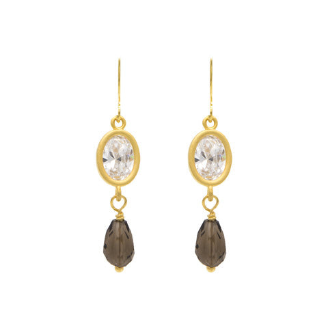 Gold Capri earrings