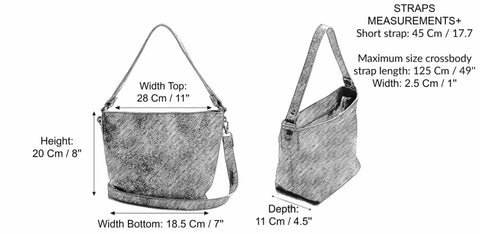 Small leather bag - Leather crossbody - leather bag with clip on crossobody strap - Small leather bag - Mini Shiri bag